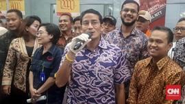 May Day, Sandiaga Berharap Buruh Daerah Tak Masuk ke Jakarta