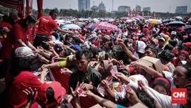FOTO: Potret Riuh Pesta Rakyat 'Untukmu Indonesia' di Monas