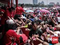 Tak Sesuai Perizinan, Sandi Duga Pesta Rakyat Monas Politis