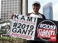 Deklarasi #2019GantiPresiden Diklaim Bukan Gerakan Politik