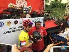 Touring Sepeda Jakarta-Surabaya, Kemenhub Kampanye Mudik Aman