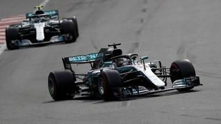 Bottas Tercepat, Hamilton Posisi Kedua di FP1 GP Spanyol