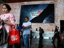 Wow! Sepanjang Hari Saham Telkom Diobral Asing Capai Rp 211 M