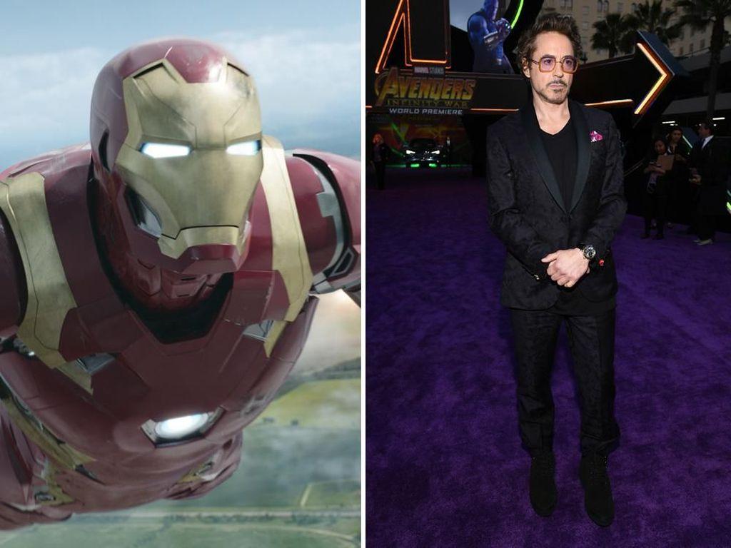 Foto: Beda Gaya Superhero Avengers di Film dan Dunia Nyata