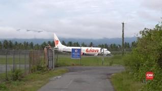 Bandara Gorontalo Kembali Normal Pasca Evakuasi Lion Air