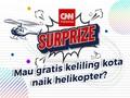 Simak Pemenang Naik Helikopter Gratis di Sini