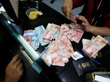 Penutupan Pasar: Rupiah Melemah ke Rp 14.345/US$