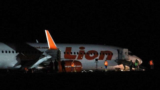 Penumpang Lion Air Ditetapkan Tersangka Kasus Candaan Bom