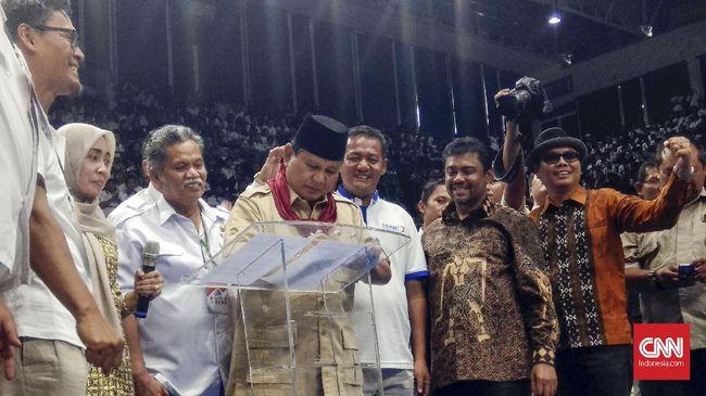Tanda Tangani Kontrak Politik, Prabowo Resmi Didukung KSPI