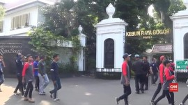 VIDEO: May Day, Kebun Raya Bogor Tutup