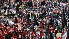 Karyawan Kertas Nusantara Tagih Gaji dan THR Mandek 4 Tahun