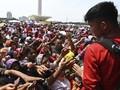Disebut Bagi Sembako di Monas, Politikus PDIP Lapor Bareskrim