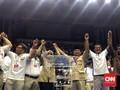 Mengaku Sempat Merinding, Prabowo Ikut Joget dengan Buruh
