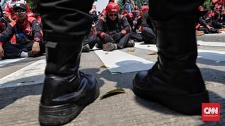 Buruh Jawa Barat Kecewa Kenaikan Upah Tak Sesuai Tuntutan