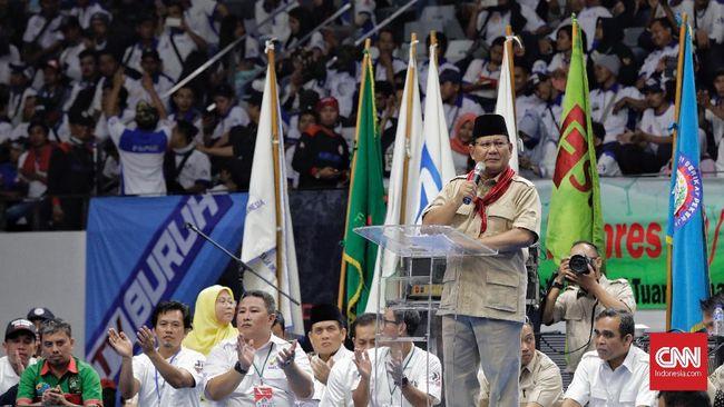 Prabowo Akan Hentikan Sistem Outsourcing Bila Jadi Presiden
