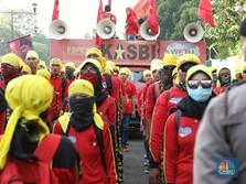 Buruh Ngotot Mau Demo di Tengah Pandemi, Tak Takut Corona?