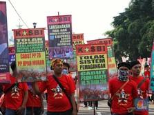 Aksi May Day, Masih Ada Buruh Digaji Rp 300 Ribu Sebulan