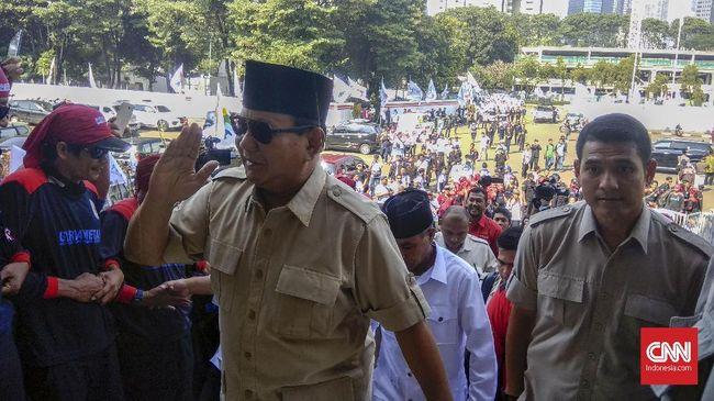 Prabowo Subianto: 'Rak Pateken' Saya Dibenci Elite Pemerintah