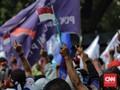 Buruh Jateng Protes UMP, Menteri Hanif Sebut Skema Sudah Baik