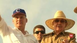 VIDEO: Raul Castro dan Miguel Diaz-Canel di Mayday Kuba