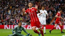 James Rodriguez Berpeluang Gantikan Oezil di Arsenal