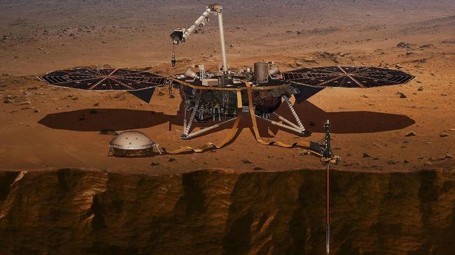 Nasa Luncurkan Roket Atlas 5 Kirim Robot Penggali Perut Mars