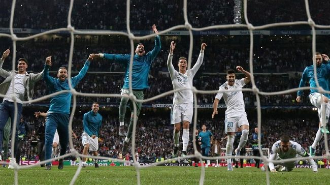 Real Madrid Punya 'DNA' Superior di Liga Champions