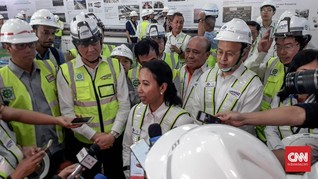 Fokus Pangan, Menteri Rini Resmikan Pabrik Pupuk di Palembang