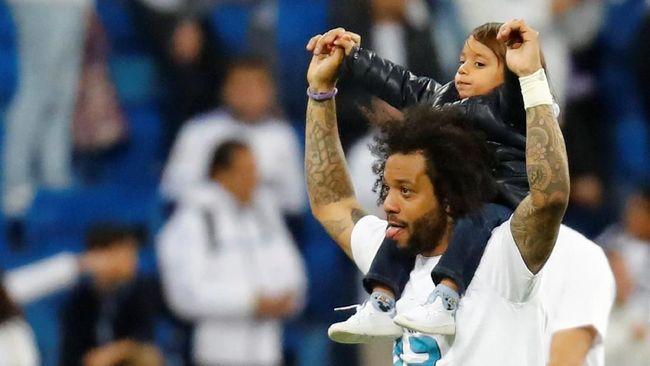 Putra Marcelo Bikin Heboh Ruang Ganti Real Madrid