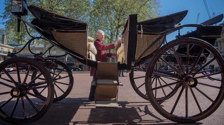 Ini Dia Kereta Kencana Pangeran Harry Jelang Royal Wedding