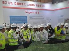 Saat Menteri Rini & Bos China Railway Tinjau Proyek KA Cepat