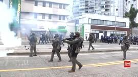 VIDEO: May Day di Puerto Rico Berujung Ricuh