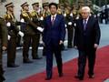 Temui Abbas, PM Abe Janji Tak Akui Yerusalem Ibu Kota Israel