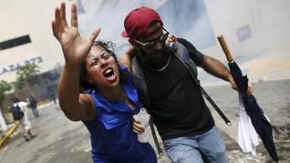 FOTO: Amarah Peringatan May Day di Penjuru Dunia