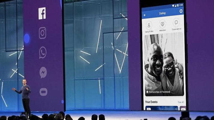 Saingi Tinder, Facebook Akan Rilis Aplikasi Kencan Online
