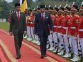 Bertemu Jokowi, Sultan Brunei Tertarik Alusista buatan RI