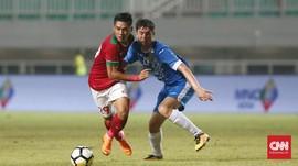 Babak I: Timnas Indonesia vs Uzbekistan Berakhir Imbang