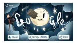 Google Doodle Hadirkan Sosok Melies dalam 'Virtual Reality'