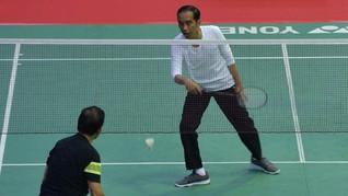 Diplomasi Bulu Tangkis ala Jokowi ke Sultan Brunei Darussalam