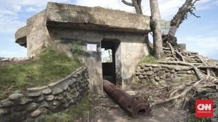 Ribuan Benteng Pertahanan Jepang Kokoh Jaga Sabang