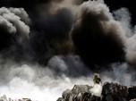 Si Jago Merah Lahap Pabrik Daur Ulang Ban Bekas di Meksiko