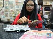 Pukul 13:00 WIB: Rupiah Melemah ke Rp 14.270/US$