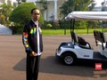 VIDEO: Jokowi Pamer Jaket Asian Games 2018 di Depan Siswa SMA