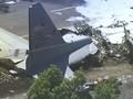 VIDEO: Pesawat Kargo Militer AS Jatuh, 9 Tewas