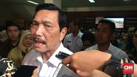 Luhut Soal Penyegelan Pulau D: Tanya Saja Gubernurnya