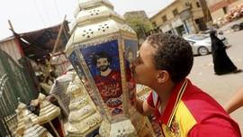 FOTO: 'Demam' Mohamed Salah di Kairo