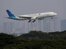 Lebaran 2018, Garuda Pastikan Operasional Berjalan Normal