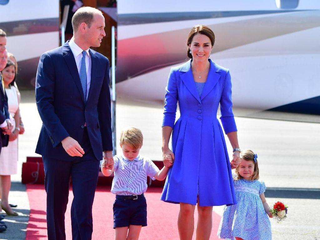 Family Goal! Intip Gaya Kompak Pangeran William-Kate Middleton Sekeluarga