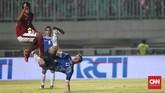 PSSI Anniversary Cup 2018 menjadi persiapan penting bagi Timnas Indonesia jelang tampil di Asian Games 2018. (CNN Indonesia/Andry Novelino)