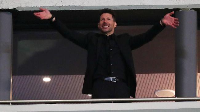 Diego Simeone Sebut Marseille Lawan yang Sangat Berbahaya